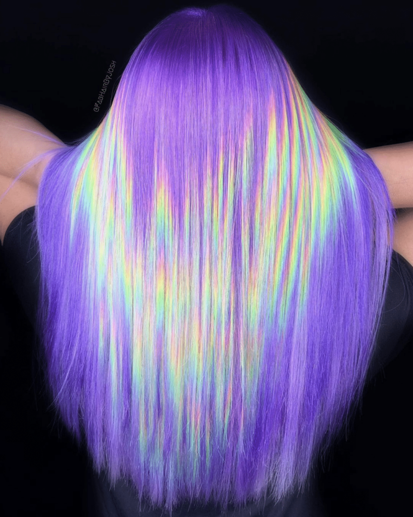 Holographic Hair Is The The Hottest (and most magical) Hair Trend Of 2021