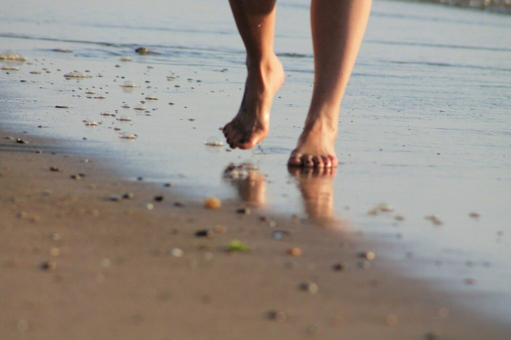 What Happens To Your Body When You Walk Barefoot