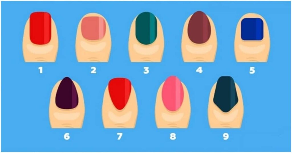 What Your Nail Shape Says About You