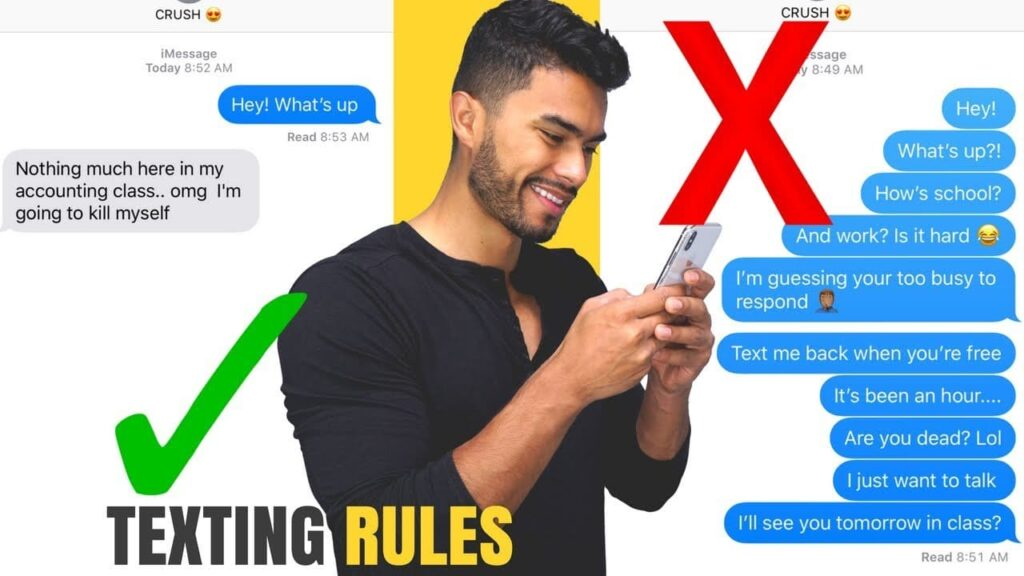 Golden Texting Rules That Will Leave You Thinking