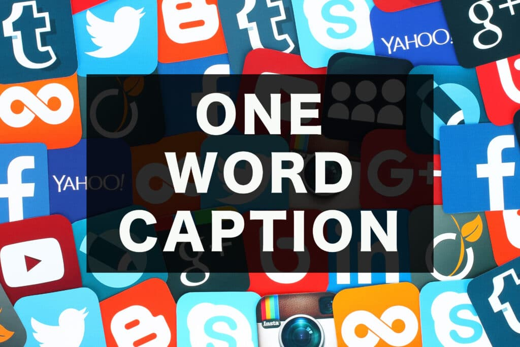 500+ One Word Captions For You