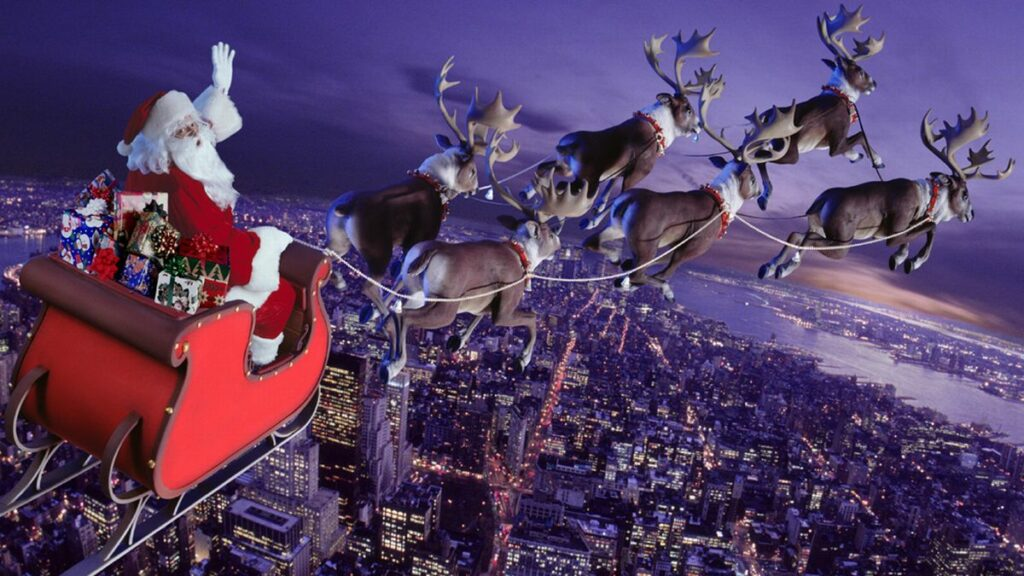 What are the names of Santa's reindeer?